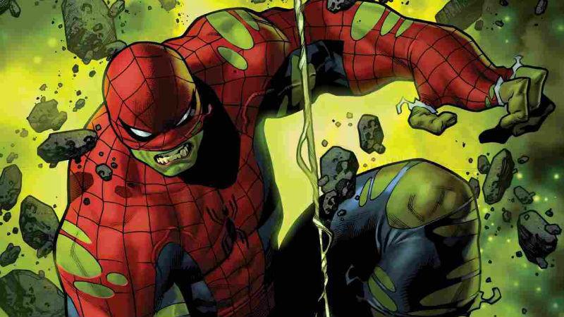 nueva transformacion de hulk spiderman